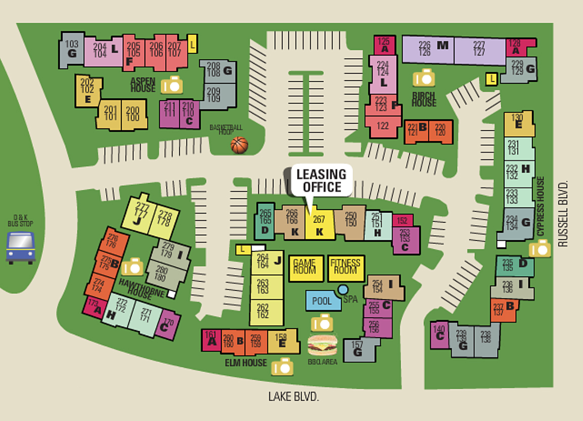 The Trees Apartments Sitemap