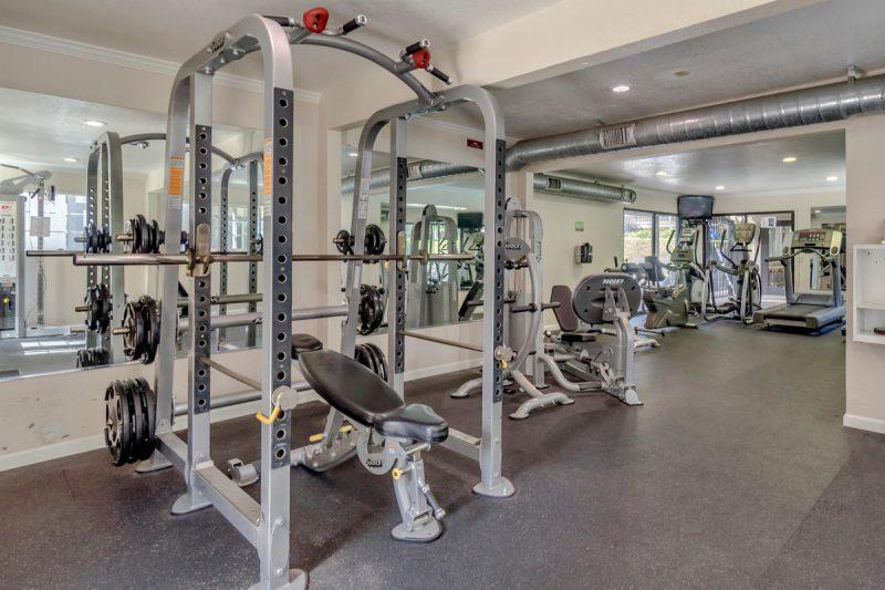 The Trees Apartments Davis - Fitness Room